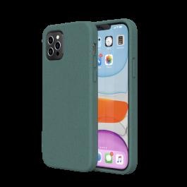 Husa de protectie biodegradabila NextOne pentru iPhone 12 / iPhone 12 Pro, Verde