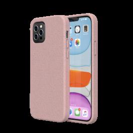 Husa de protectie biodegradabila NextOne pentru iPhone 12 / iPhone 12 Pro, Roz