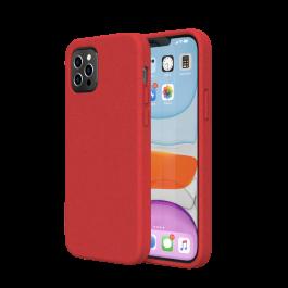 Husa de protectie biodegradabila NextOne pentru iPhone 12 / iPhone 12 Pro, Rosu