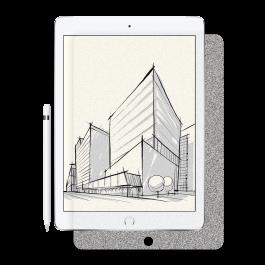 Folie de protectie Next One pentru iPad 10.2 inch, Paper-like