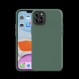 Husa de protectie Next One pentru iPhone 12 Pro Max, Silicon, Verde