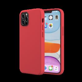 Husa de protectie Next One pentru iPhone 12 / iPhone 12 Pro, Silicon, Rosu