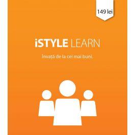 iSTYLE Learn (Vrei să să descoperi mai multe despre ceea ce puteți face cu produsele Apple?)
