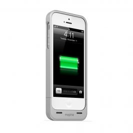 JUICE PACK HELIUM CASE + RECHARGEABLE BATTERY - SILVER