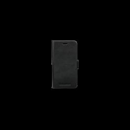 Husa de protectie Lynge pentru iPhone X si iPhone Xs, Piele - Negru