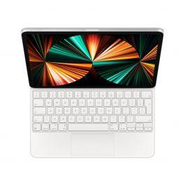 """Husa cu tastatura Apple Magic Keyboard pentru iPad Pro 12.9"""" (gen.5) Alb, layout INT"""
