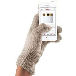 Manusi Touchscreen Mujjo, Medium/Large, Sandstone