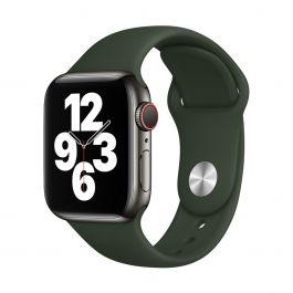 Curea Apple pentru Apple Watch 40mm Band: Cyprus Green Sport Band - Regular