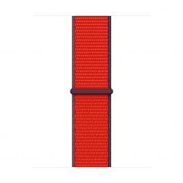 Curea Apple pentru Apple Watch 40mm, (PRODUCT)RED Sport Loop (Seasonal Fall 2020)