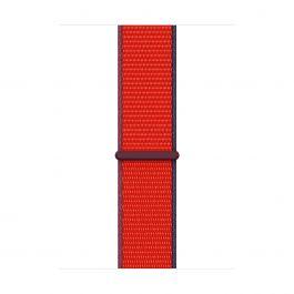 Curea Apple pentru Apple Watch 44mm, (PRODUCT)RED Sport Loop (Seasonal Fall 2020)
