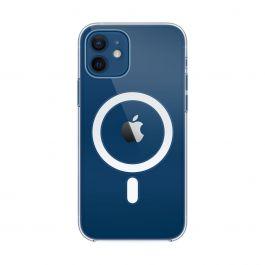Husa de protectie Apple cu MagSafe pentru iPhone 12 / iPhone 12 Pro, Transparent