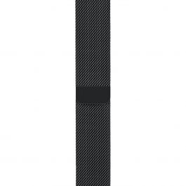 Curea Apple Watch 38mm Space Black Milanese Loop