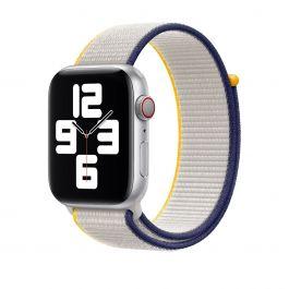 Curea Apple pentru Apple Watch 44mm, Sea Salt Sport Loop (Seasonal Spring2021)
