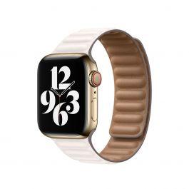 Curea Apple pentru Apple Watch 44mm, Large, Chalk Link Bracelet
