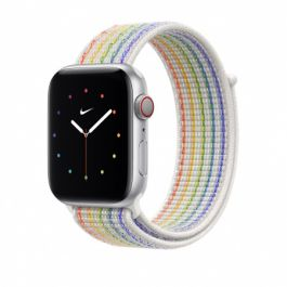 Curea Apple pentru Apple Watch 44mm, Pride Edition Nike Sport Loop