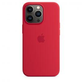 Husa de protectie Apple cu MagSafe pentru iPhone 13 Pro, Silicon, (PRODUCT)RED