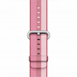 Curea Apple Watch 38mm Berry Woven Nylon