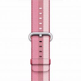 Curea Apple Watch 38mm Berry Woven Nylon