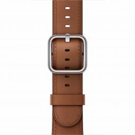 Curea Apple Watch 42mm Saddle Brown Classic Buckle
