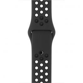 Curea Apple Watch 42mm Nike Anthracite/Black Nike Sport Band - S/M & M/L