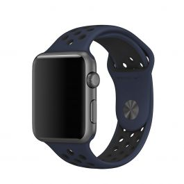 Curea Apple Watch 42mm Nike Obsidian/Black Nike Sport Band - S/M & M/L