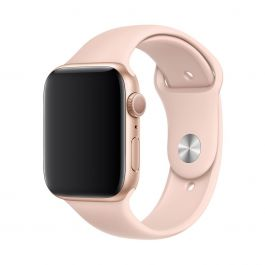 Curea Apple Watch 40mm Band: Pink Sand Sport Band - S/M & M/L