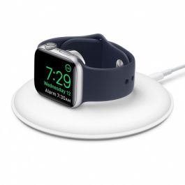 Stand de incarcare Apple Watch, Magnetic, Alb