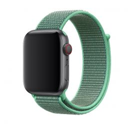 Curea Apple Watch 44mm Band: Spearmint Sport Loop