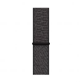 Curea Apple Watch 40mm Nike Band: Black Nike Sport Loop