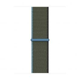 Curea Apple pentru Apple Watch 40mm Band: Inverness Green Sport Loop