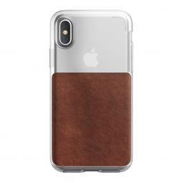 Husa de protectie Nomad pentru iPhone X/Xs, Semi-transparenta