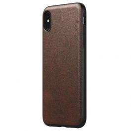 Husa de protectie Nomad pentru iPhone Xs Max, Piele, Maro