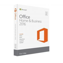 Microsoft Office Mac Home Business 1PK 2016 English EuroZone Medialess P2