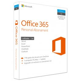 Microsoft Office 365 Personal (1-year subscription)