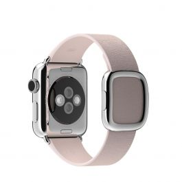 Curea Apple Watch 38mm Soft Pink Modern Buckle - Large