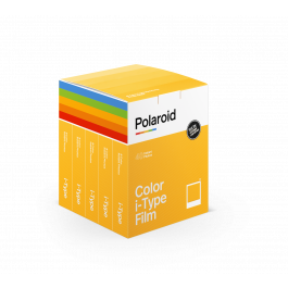 Set 40 coli de film color pentru Polaroid i-Type