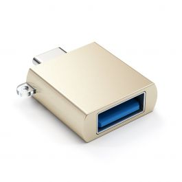 Adaptor Satechi USB-C la USB, Gold