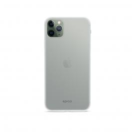 Husa de protectie Epico pentru iPhone 11 Pro Max, Silicon, Alb Transparent