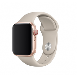 Curea Apple Watch 40mm Band: Stone Sport Band - S/M & M/L