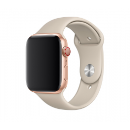 Apple Watch 44mm Band: Stone Sport Band - S/M & M/L