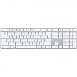 Tastatura Apple Magic cu Numeric Keypad, layout US, Silver