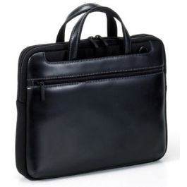 Tucano (Bestseller) LEATHER Work_out Large for Apple 15.4inch - Black