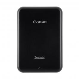 Imprimanta foto Canon Zoemini, Tehnologie Zink, Negru