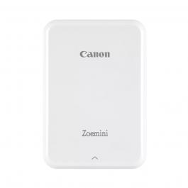 Imprimanta foto Canon Zoemini, Tehnologie Zink, Alb