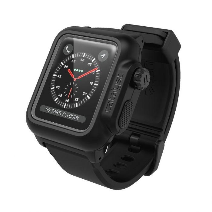 39d6f19b68d Husa rezistenta la apa Apple Watch 3/2 42mm Catalyst, Negru | iSTYLE RO