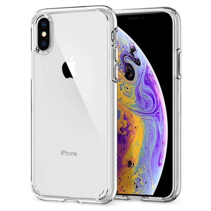 bf460da3729 Husa de protectie Spigen Ultra Hybrid pentru iPhone X/Xs, Transparent |  iSTYLE RO