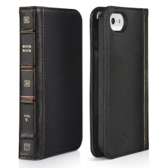 TwelveSouth BookBook for iPhone SE - Black