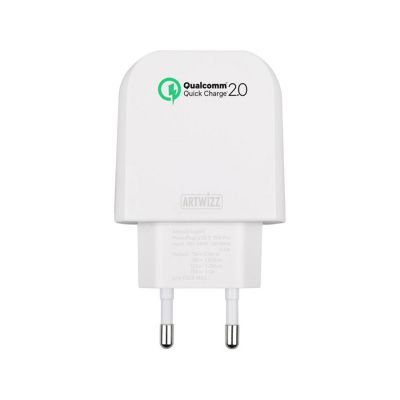 Artwizz PowerPlug USB-C (with Qualcom Quickcharge 15W Pro) - White