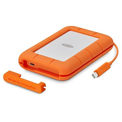 LaCie Rugged Thunderbolt & USB 3.1 (integrated cable) - 5TB