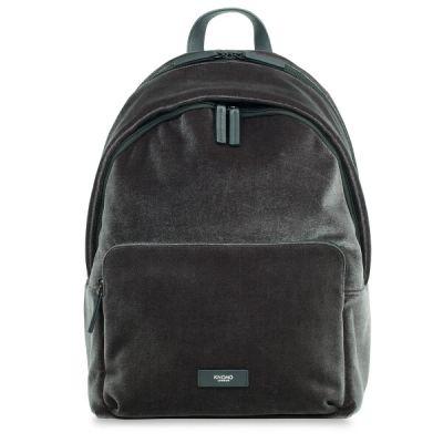 (EOL) Knomo BATHURST Velvet Backpack 14inch - Char